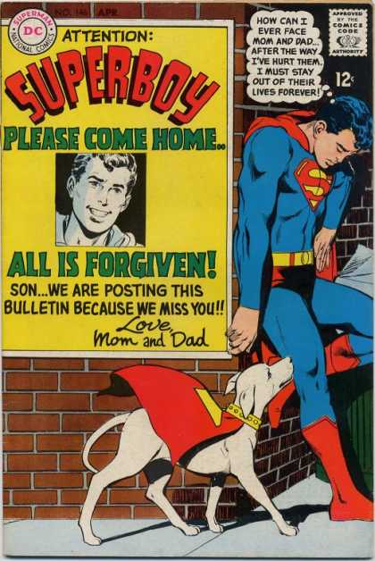 Superboy 146 - Krypto - Poster - Neal Adams