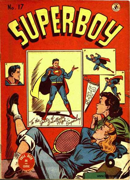 Superboy 17 - Girls - Photos - Superman - Kevin Maguire, Tom Grummett