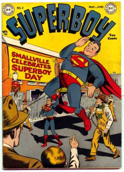 Superboy 2 - Smallville - Parade - Superman - Ten Cents - Balloon - Kevin Maguire, Tom Grummett