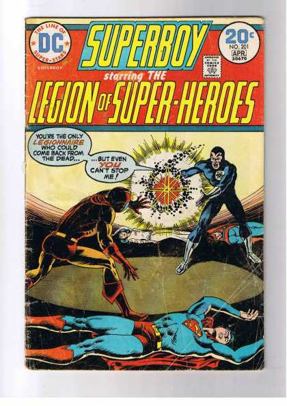 Superboy - Legion of Super-Heroes - Nick Cardy