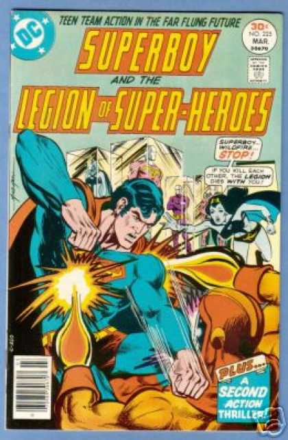 Superboy - Legion of Super-Heroes - Mike Grell