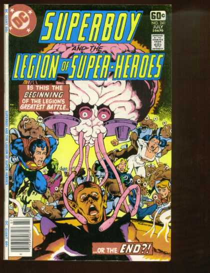 Superboy - Legion of Super-Heroes - Brain - Superman - End - Josef Rubinstein