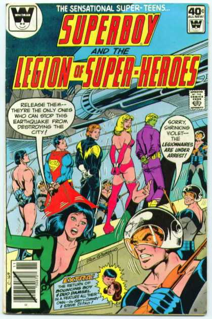 Superboy - Legion of Super-Heroes - Superman - Dick Giordano