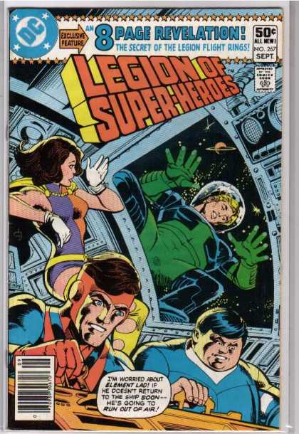 Superboy - Legion of Super-Heroes - Element Lad