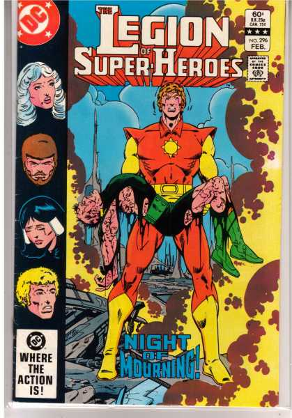 Superboy - Legion of Super-Heroes - Dc - Costume - Legion Of Superheroes - Death - Night Of Mourning
