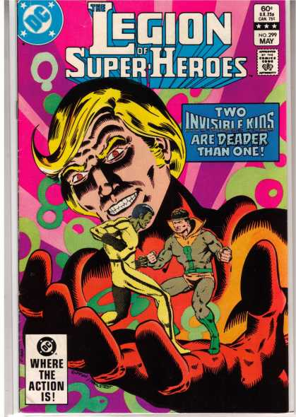 Superboy - Legion of Super-Heroes - Dc - May - Legion Of Superheroes - Two Invisible Kids - 60 Cents
