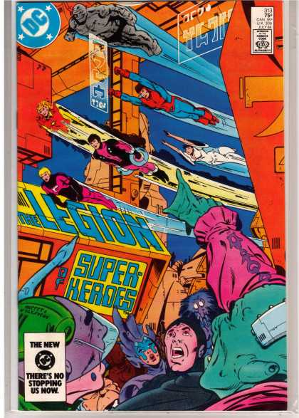 Superboy - Legion of Super-Heroes - Dc Comics - The Legion - Super Heroes - The New Dc Theres Nothing Stopping Us Now - 75 Cents