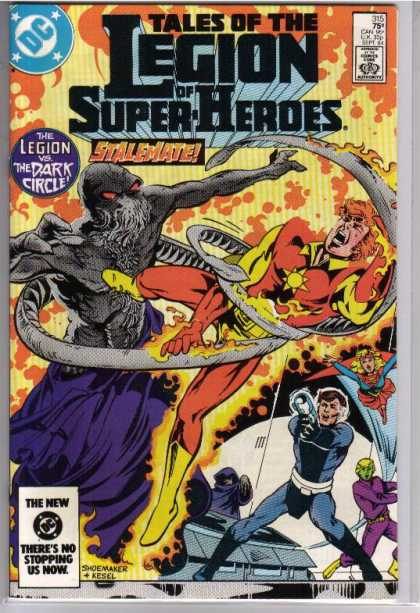 Superboy - Legion of Super-Heroes - Super Hero - Gun Man - Super Man - Stalemate - Fighting Man