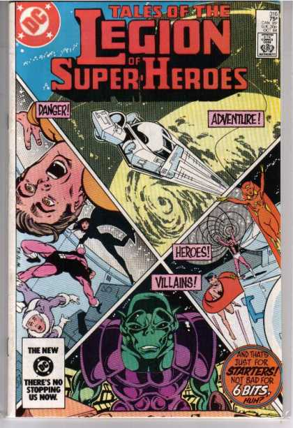 Superboy - Legion of Super-Heroes - Tales Of The Legion - Alien - Space - Zero Gravity - Spaceship