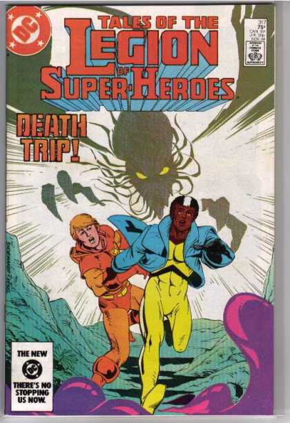 Superboy - Legion of Super-Heroes - Legion Of Super-heroes - Death Trip - Kthulu - Dc - Purple Goo