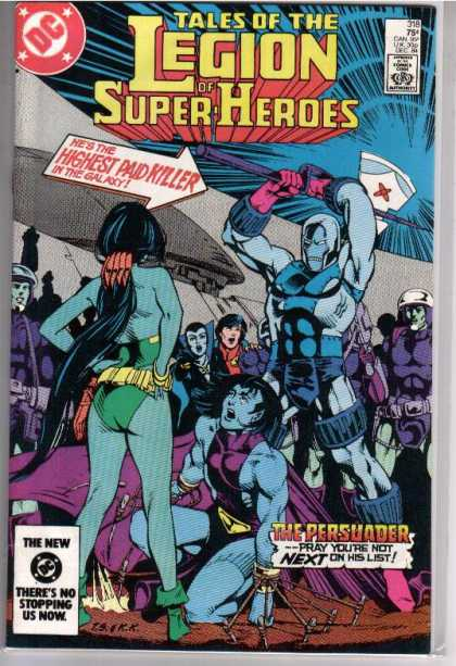 Superboy - Legion of Super-Heroes - Tales Of The Legion Of Super Heroes - Highest Paid Killer - Axe - Dc - The Persuader