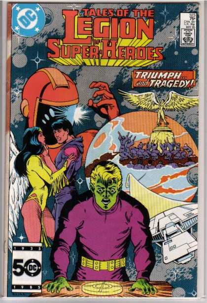 Superboy - Legion of Super-Heroes - Tales - Legion - Superhero - Alien - Woman