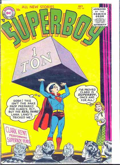 Superboy 44 - Weight - Curt Swan