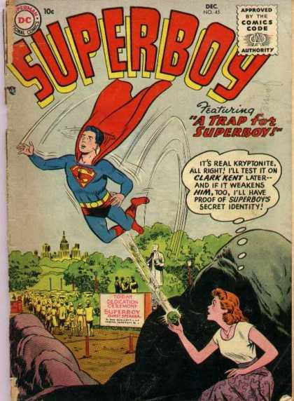 Superboy 45 - Kryptonite - Clark Kent - Trap - Curt Swan, Tom Grummett