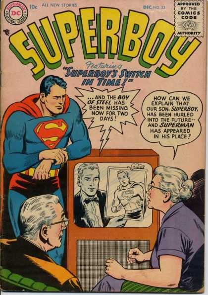 Superboy 53 - Ma Kent - Pa Kent - Superman - Tv - Boy Of Steel - Curt Swan, Tom Grummett