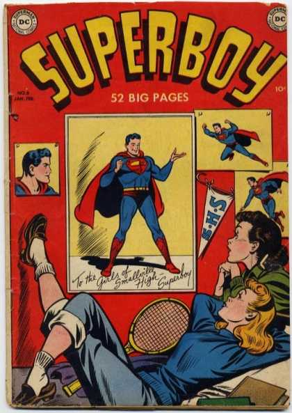 Superboy 6 - Girls - 52 Big Pages - Dc - Smallville High - Posters - Kevin Maguire, Tom Grummett