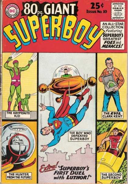 Superboy 80 - Kryptonite Kid - Luthor - Clark Kent - Curt Swan, Tom Grummett