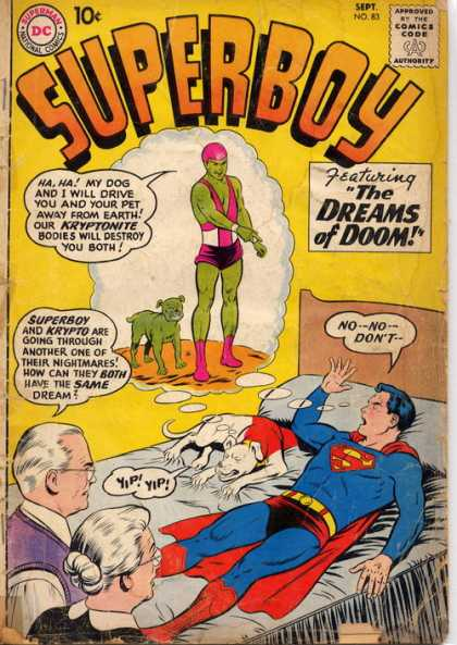 Superboy 83 - Krypto - Dog - Bed - Superman - Cartoon - Curt Swan, Pascal Ferry