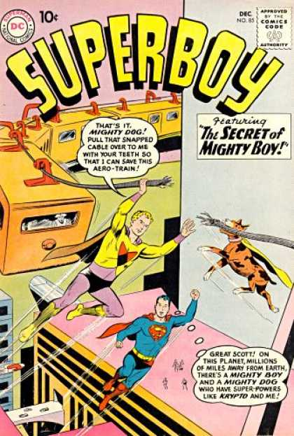 Superboy 85 - Mighty Dog - Mighty Boy - Great Scott - Krypto - The Secret - Curt Swan, Pascal Ferry