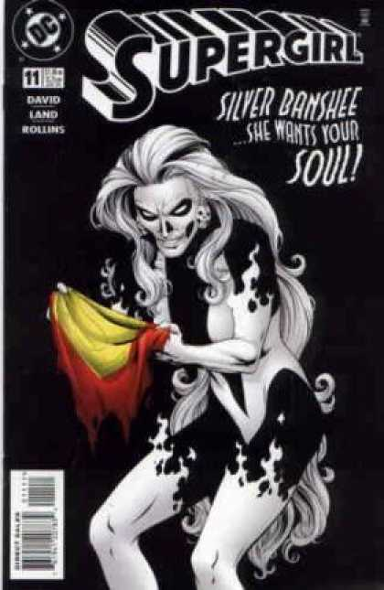 Supergirl 11 - Silver Banshee - Soul - Evil - Female - Wants - Gary Frank