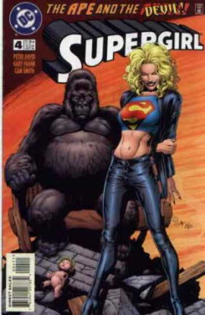 Supergirl 4 - Dc - Blonde - Babe - The Ape And The Devil - Gorilla - Gary Frank, Kerry Gammill