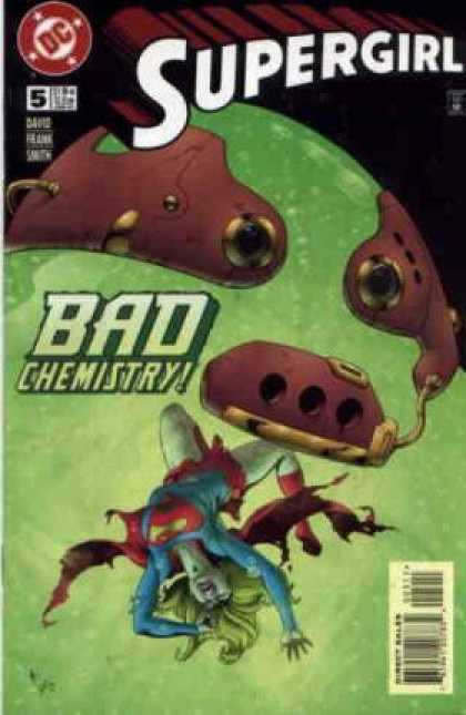 Supergirl 5 - Bad Chemistry - Direct Sales - Superhero - Dc - Ball - Gary Frank