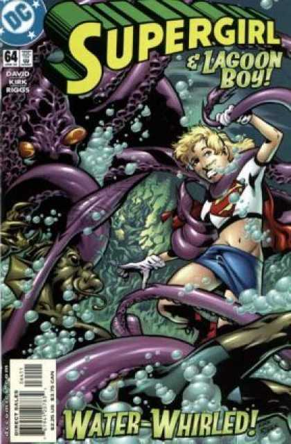 Supergirl 64 - Sea - Water - Octopus - David - Water Whirled - Leonard Kirk, Robin Riggs