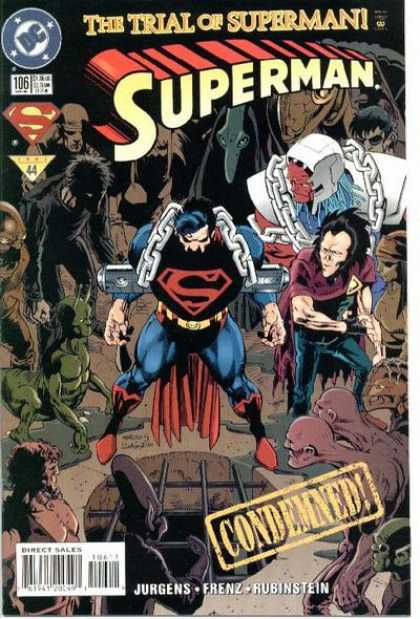 Superman (1987) 106 - Trial - Condemned - Chains - Dan Jurgens
