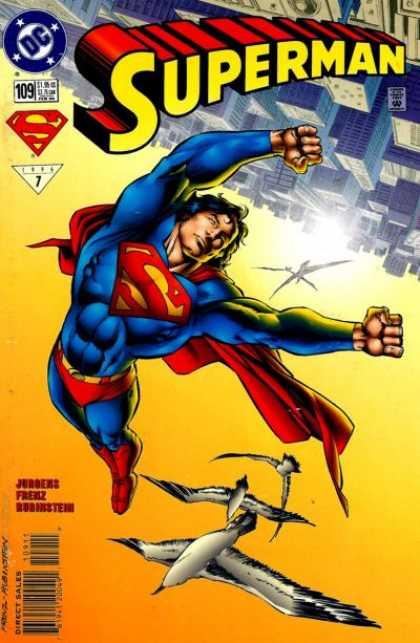Superman (1987) 109 - Seagulls - City - Birds - Dan Jurgens