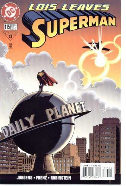 Superman (1987) 115 - Daily Planet - Plane