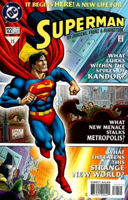 Superman (1987) 122 - Kandor - Metropolis
