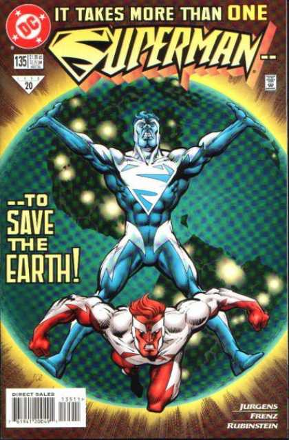 Superman (1987) 135 - One - Earth - Save - Josef Rubinstein