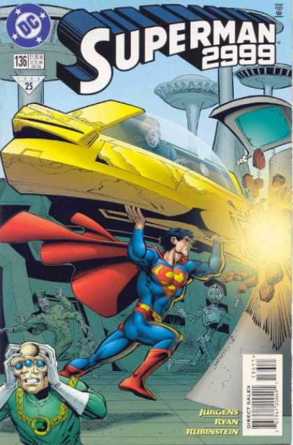 Superman (1987) 136 - Jurgens - Ryan - Superman 2999 - Alien - Dc - Dan Jurgens