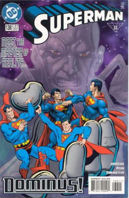 Superman (1987) 138 - Dominus - Hand - Jurgens - Meet The Master Of Reality - Ryan - Dan Jurgens