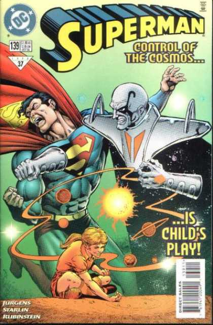 Superman (1987) 139 - Jurgens - Child - Issue 139 - Dc Comics - Control Of The Cosmos - Dan Jurgens