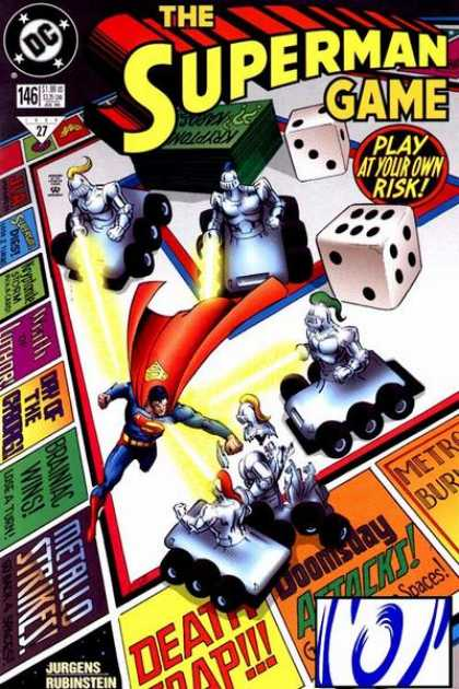 Superman (1987) 146 - Game - Dice - Monopoly - Doomsday