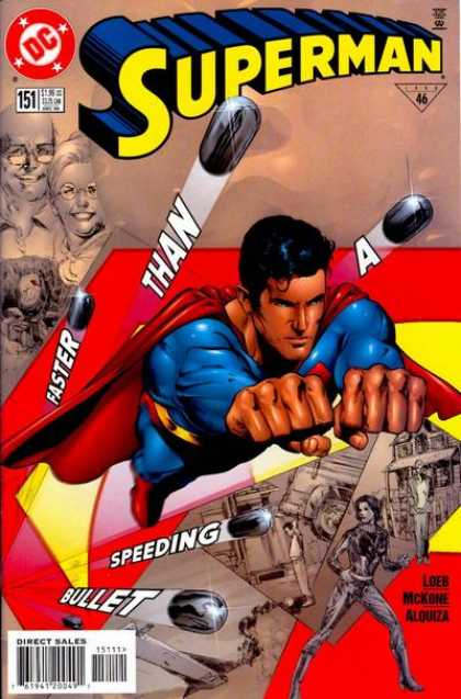 Superman (1987) 151 - Faster Than A Speeding Bullet - Loeb - Phil Jimenez