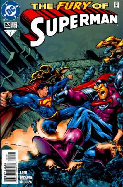Superman (1987) 152 - Loeb - Mckone - Dc - Superhero - The Fury Of