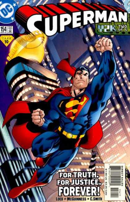 Superman (1987) 154 - Daily Planet - Flying - Y2k - Dc - Superman - Ed McGuinness