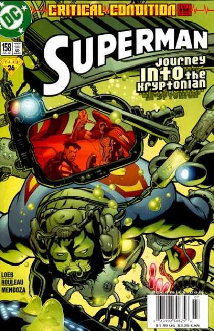 Superman (1987) 158 - Loeb - Green - Critical Condition - Doug Mahnke