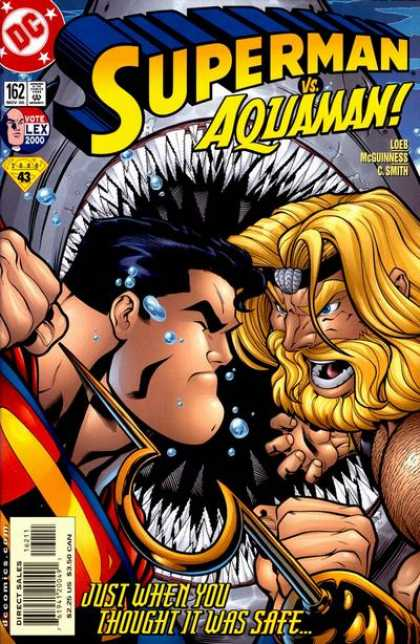 Superman (1987) 162 - Aquaman - Shark - Beard - C Smith - Hook - Ed McGuinness