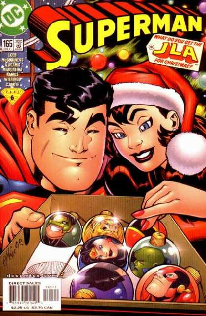 Superman (1987) 165 - Christmas - Santa - Flash - Ed McGuinness