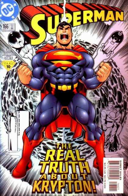 Superman (1987) 166 - New Power - Fighter - The Saver - Solider - Earth Saver - Ed McGuinness