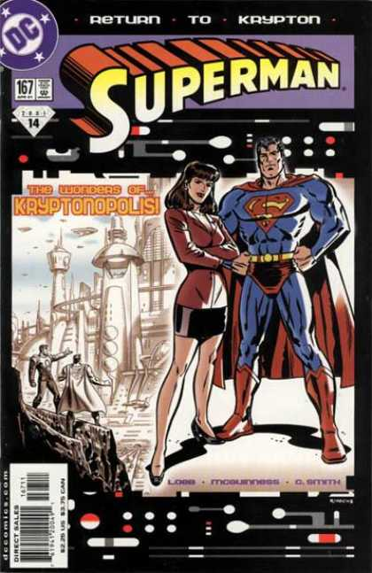Superman (1987) 167 - City - Lois Lane - Kryptonopolis - Krypton - Woman