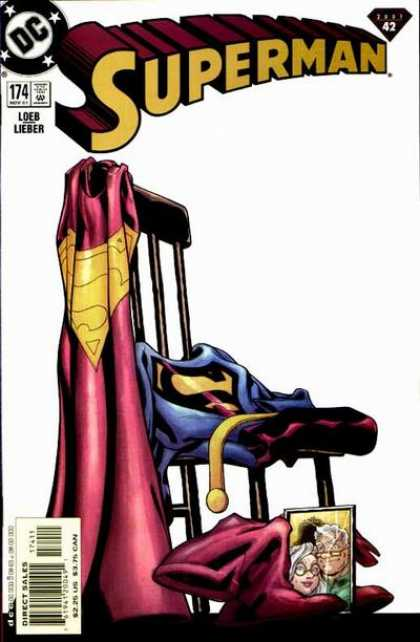 Superman (1987) 174 - Chair - Cape - Photograph - Steve Lieber
