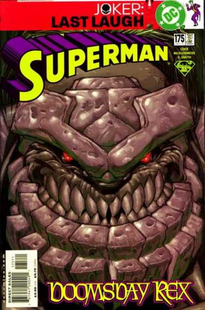 Superman (1987) 175 - Doomsday - Joker - Doomsday Rex - Dc - Boomsday Rex - Ed McGuinness
