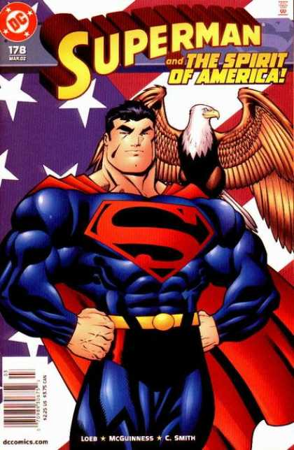 Superman (1987) 178 - Eagle - Flag - Ed McGuinness