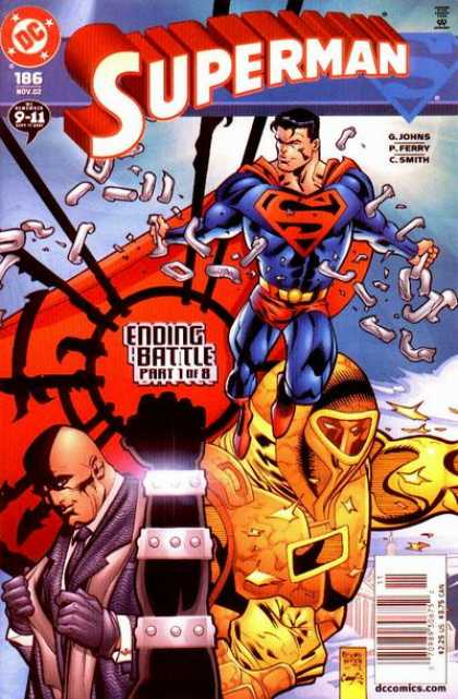 Superman (1987) 186 - Lex Luthor - Ending Battle - Chain - Ending Battle Par1 Of 8 - Dc - Pascal Ferry