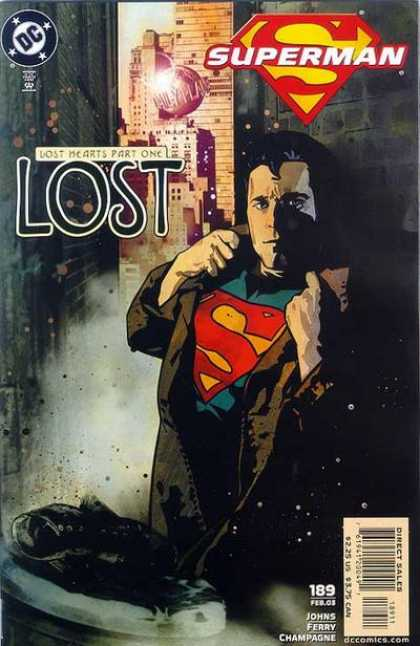 Superman (1987) 189 - Lost - Dc - Comics - Superman - 189