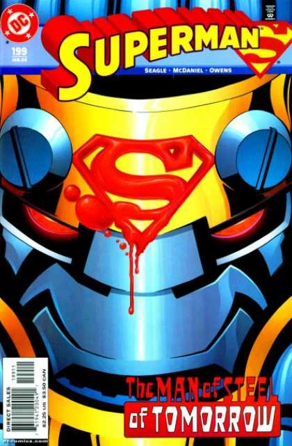 Superman (1987) 199 - Super-metal - Tomorrow Is Metal-day - Need A Super Can-opener - Magnetic Villain - Rusty Rub Out